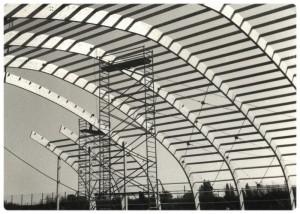 1988 : structure couverte pour 2 courts