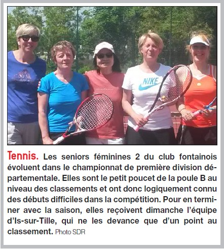 Seniors Dames 2 - BP 5 juin 2015