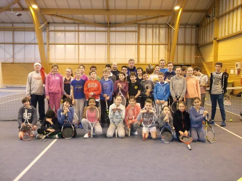 Ecole de tennis Noël 2015